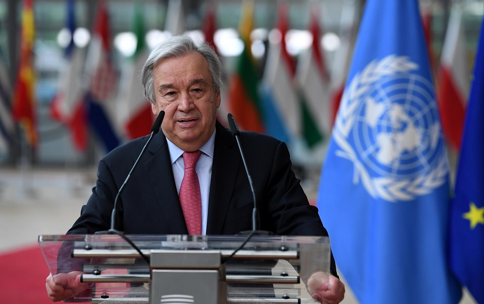 UN chief urges global effort to protect press after Nobel wins
