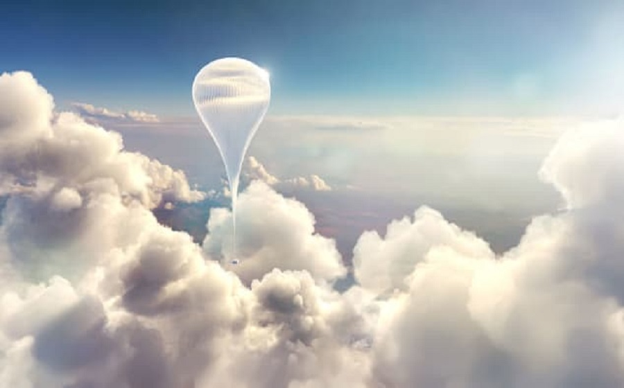 Another company is offering edge-of-space balloon trips, but at just $50,000