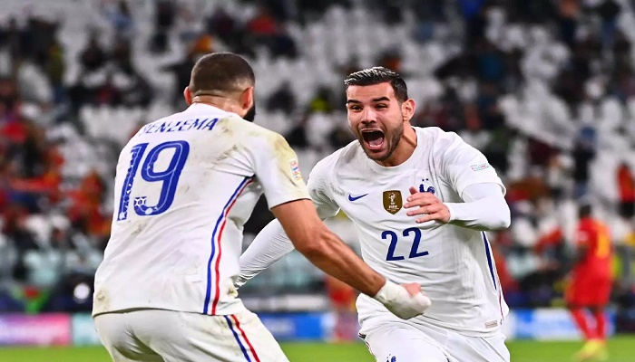 Hernandez fires comeback kings France into Nations League final