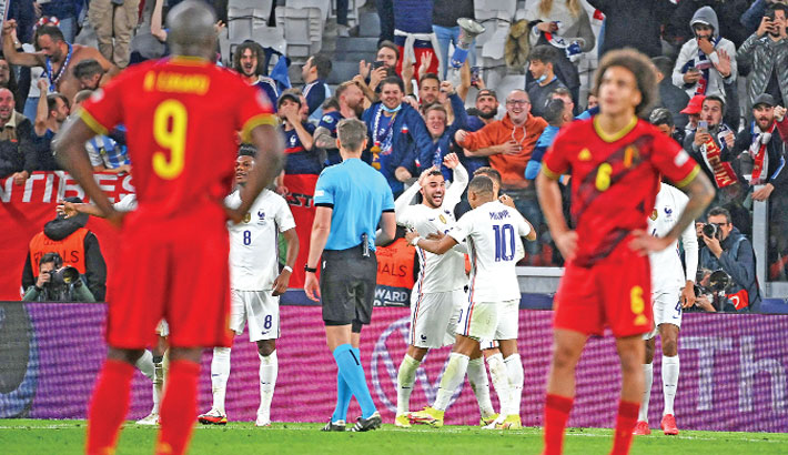 Hernandez fires France into Nations League final