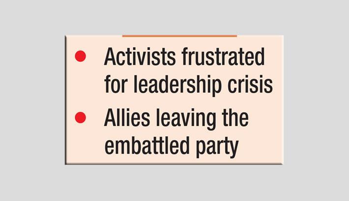 BNP too fragile to regain confidence