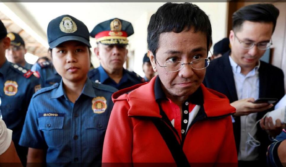 Philippine Nobel winner Ressa calls Facebook