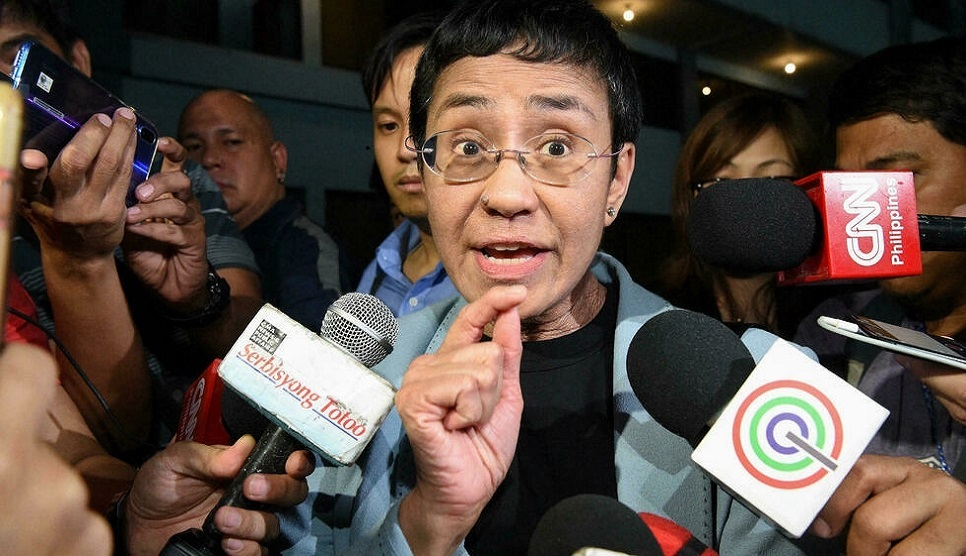 Philippines' Nobel Prize winner Ressa says award for 'all journalists'