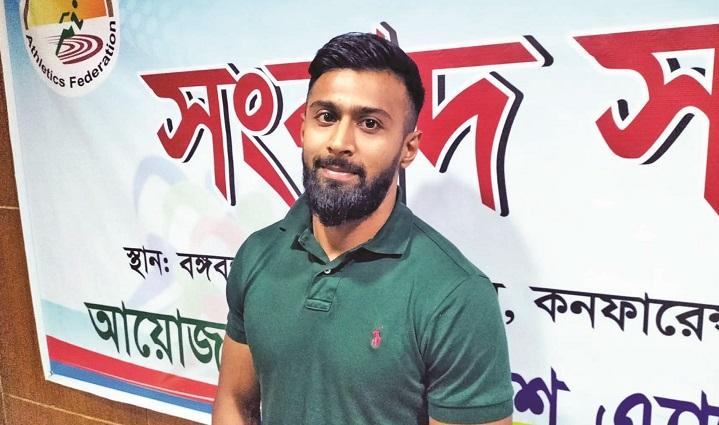 Expat sprinter Imranur dreams big for Bangladesh