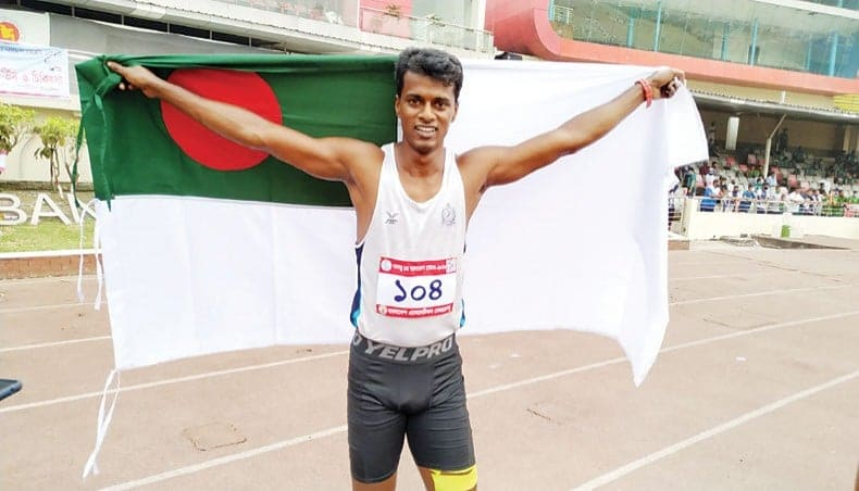 Country's fastest man Ismail receives one-year ban