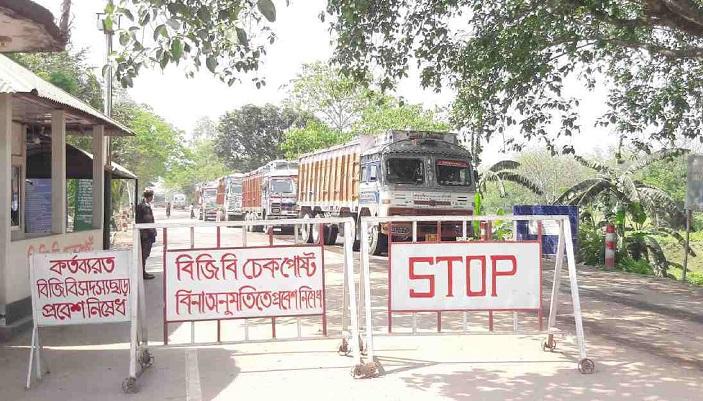 Burimari port to remain shut for 5 days for Durga puja