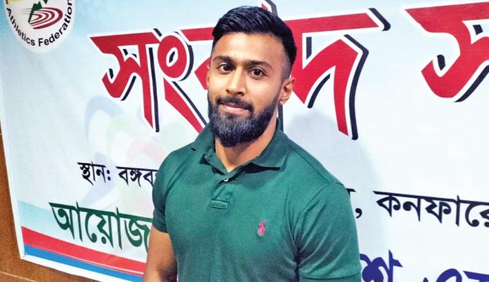 Expat sprinter Imran dreams big for Bangladesh