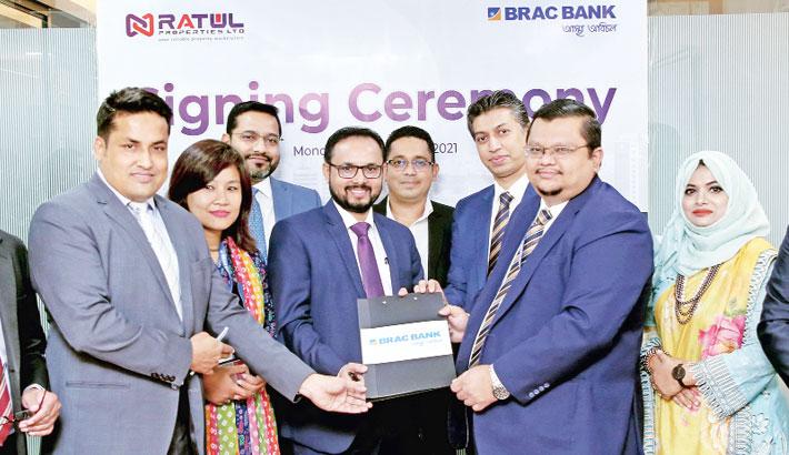 BRAC Bank, Ratul Properties ink MoU