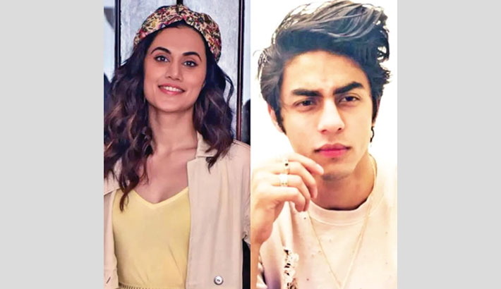 Part and parcel of being a public figure: Taapsee on Aryan Khan's case