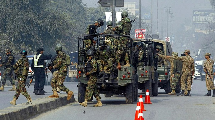 4 terrorists killed in clash with security forces in SW Pakistan