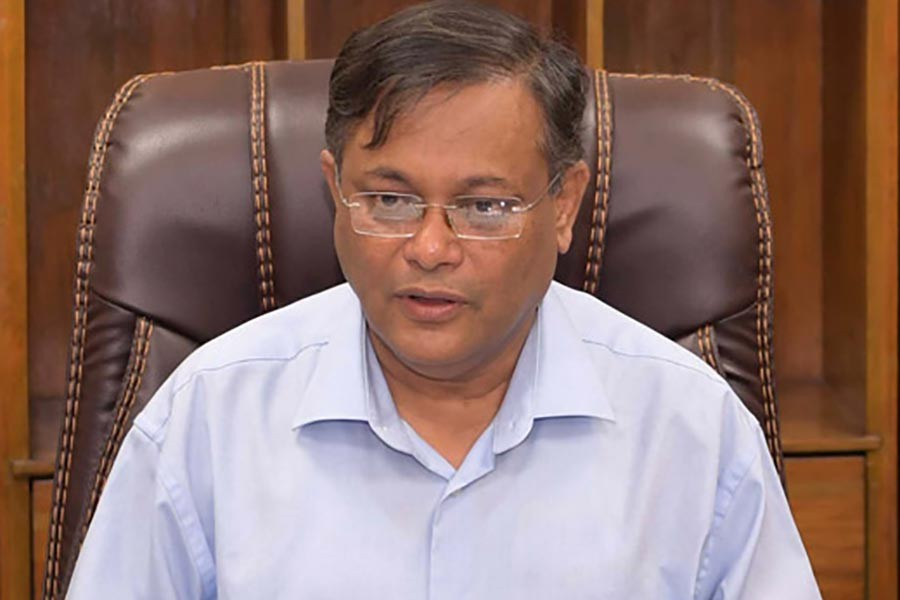 BNP's 20-party alliance has only 8-10 parties: Hasan Mahmud