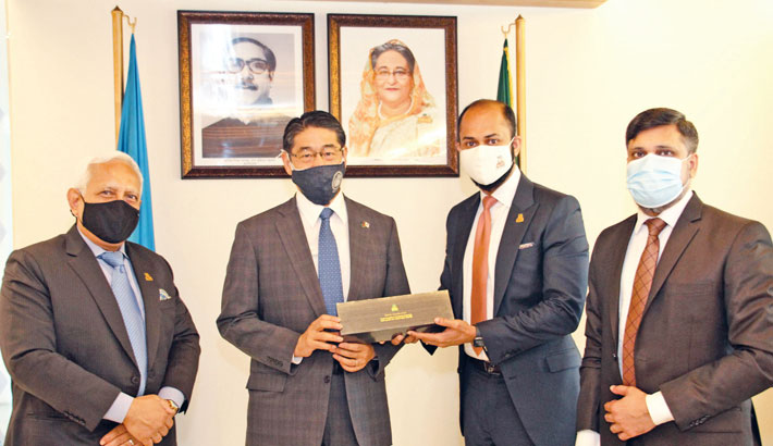 DCCI invites Japanese investment in Bangladesh auto industry