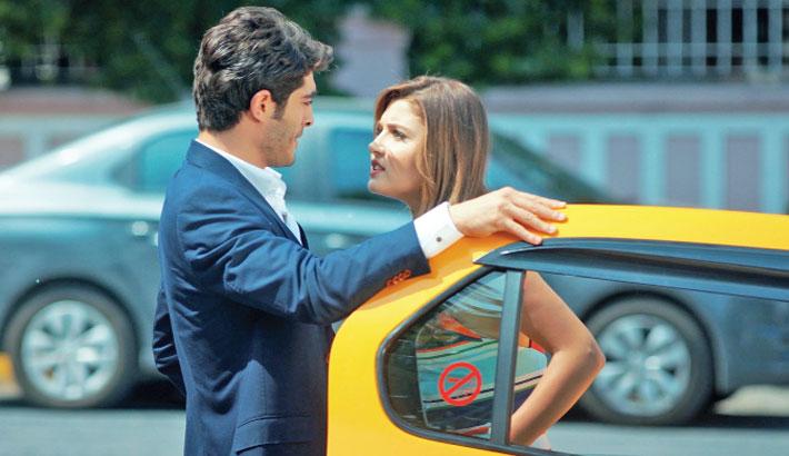 Bangla-dubbed Turkish serial 'Hayat Murat' will be aired on Channel  i  at 8:00pm today. The series stars popular Turkish actors Burak Deniz as Murat Sarsılmaz and Hande Erçel as Hayat Uzun.