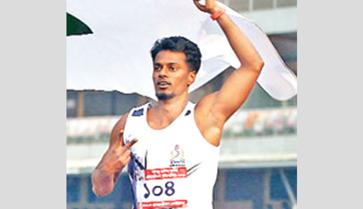 Country's fastest man Ismail suspended for one year