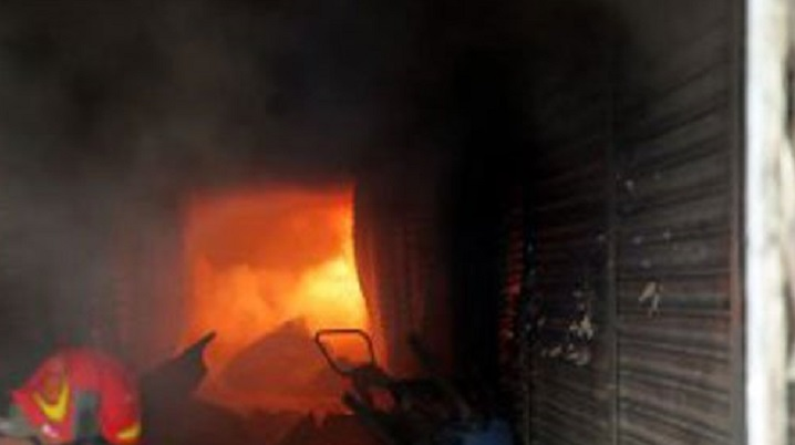 Fire at chemical shop in Bangshal