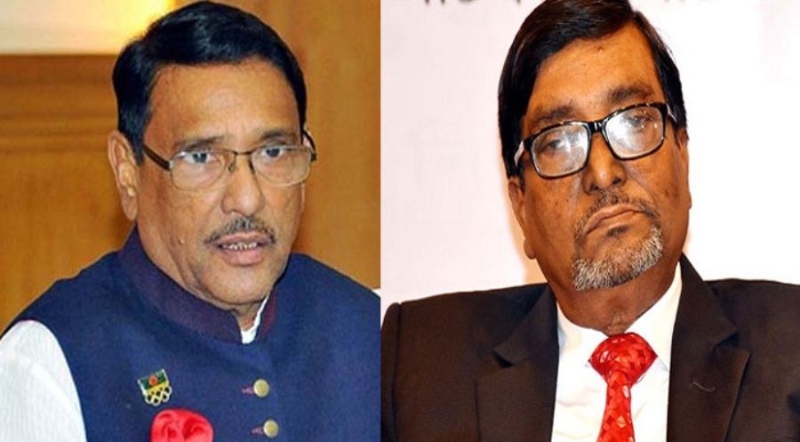 """Mahbub Talukder, not EC, suffers from """"mental problems"""": Quader"""