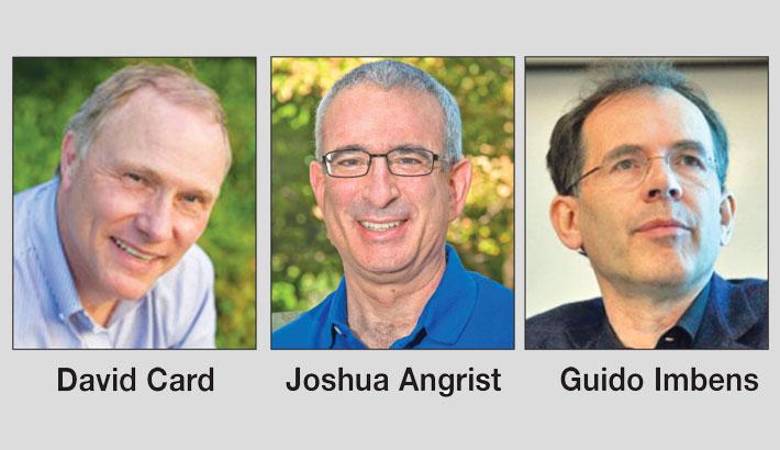 Trio wins Nobel Economics Prize