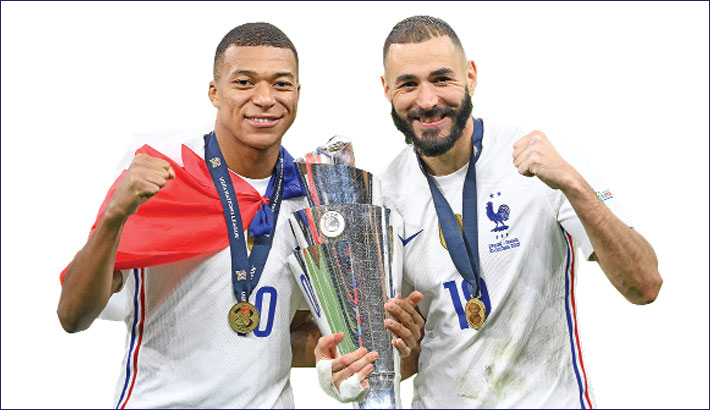 Mbappe's winner takes France to Nations League title