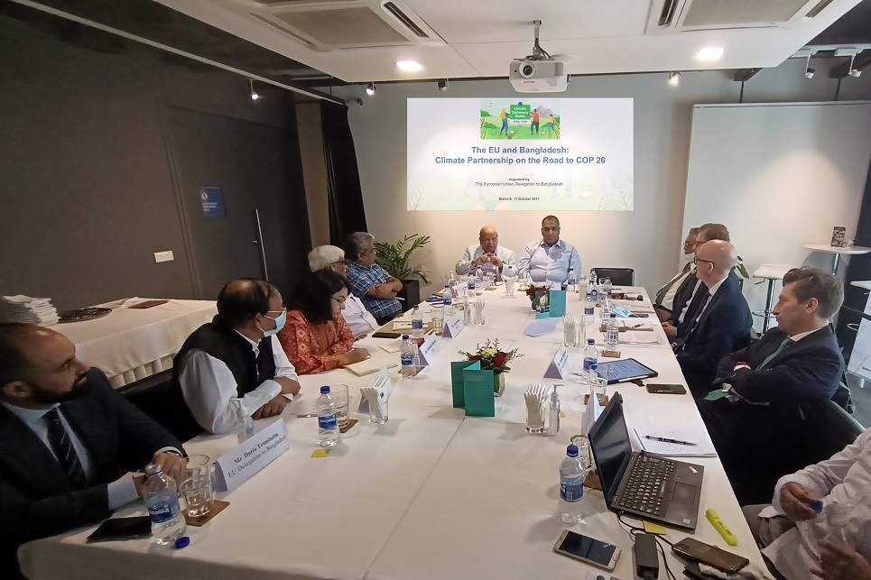 The EU and Bangladesh: Climate Partnership on the Road to COP 26