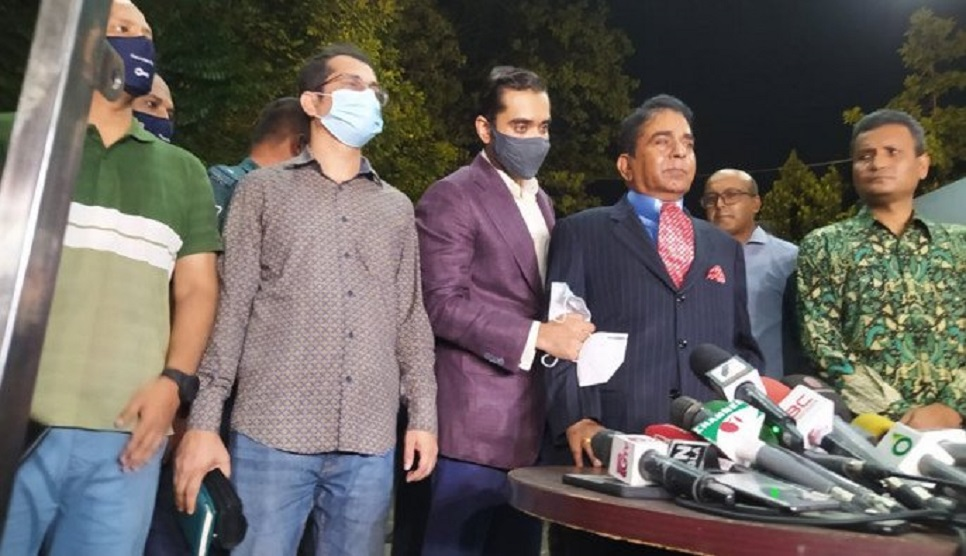 Links with Quader: Moosa, wife, son quizzed