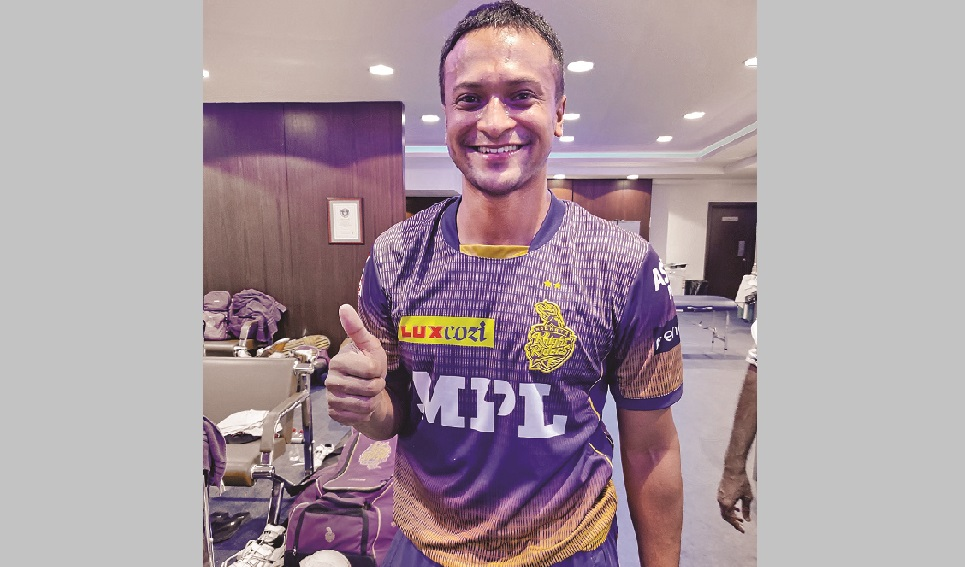 Shakib's joining date to be confirmed after Wednesday's IPL game