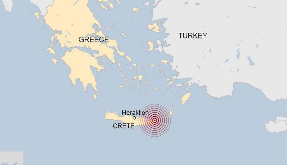 Greek island Crete shaken by 6.4-magnitude quake