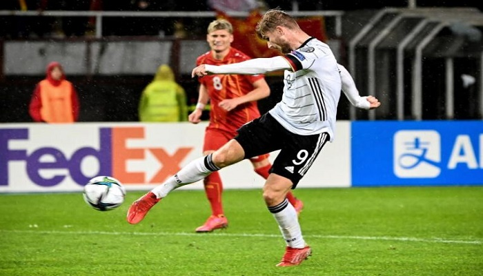Werner double sees Germany qualify for Qatar World Cup