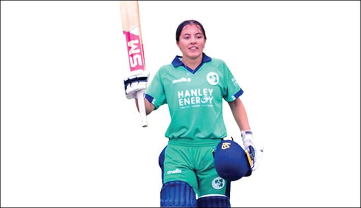 Ireland's Amy Hunter becomes youngest international centurion