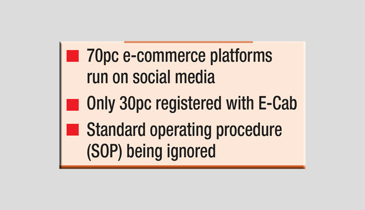 Most e-commerce firms run informally to avoid regulations