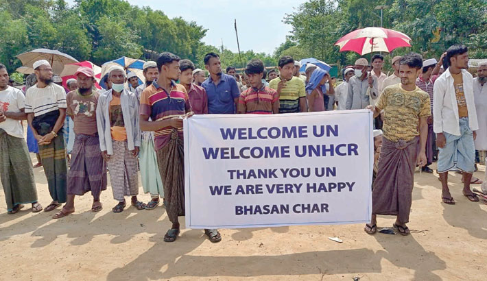 Rohingyas in Cox's Bazar rejoice at deal with UN