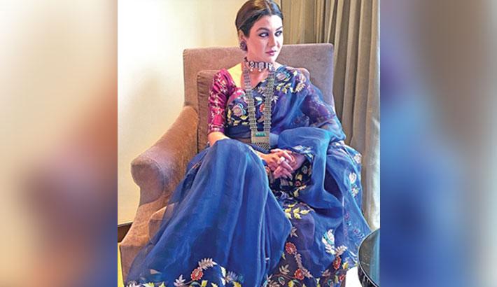 My sari designs getting copied: Jaya Ahsan