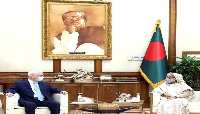 Hasina seeks Russian investment in jute sector