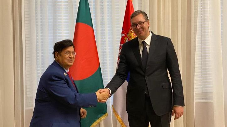 Serbian President highly lauds development journey of Bangladesh
