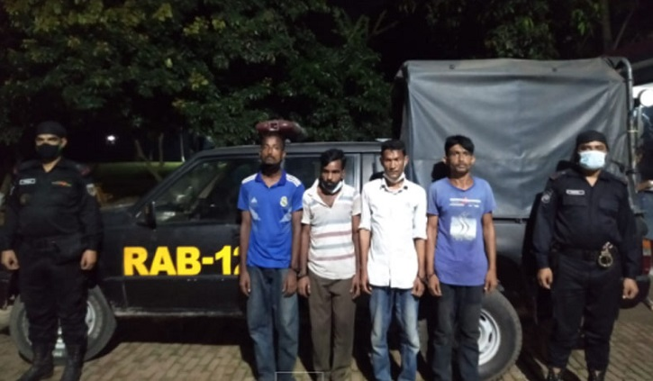 4 robbers arrested in Bogura