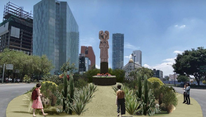 Mexico City to swap Columbus statue for one of indigenous woman