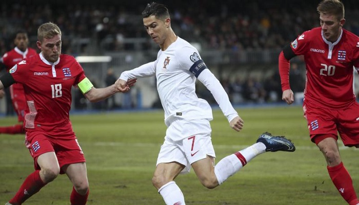 Ronaldo nets 10th Portugal hat-trick in big win vs. Luxembourg in World Cup qualifying
