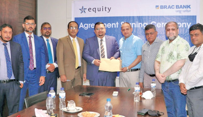 BRAC Bank, Equity Property Management ink deal on home loan