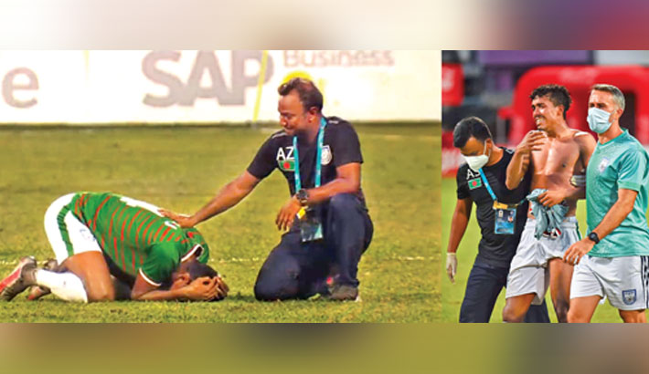 Controversial penalty breaks Bangladesh's heart