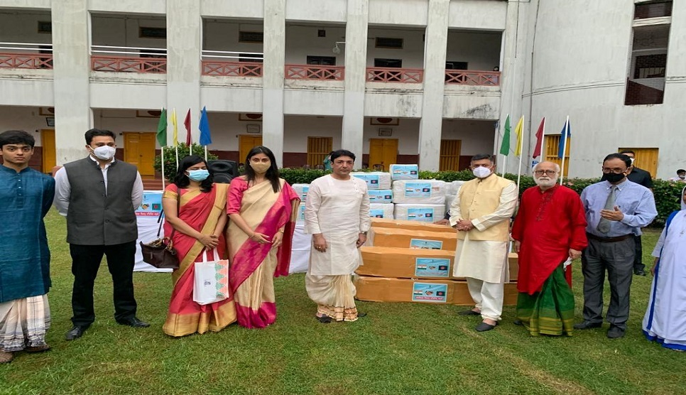 India gifts ambulance & essential medical supplies to Kumudini Hospital