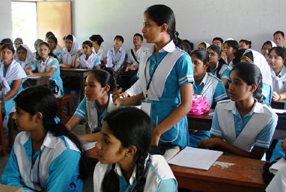 Test inculcation of schoolchildren begins today