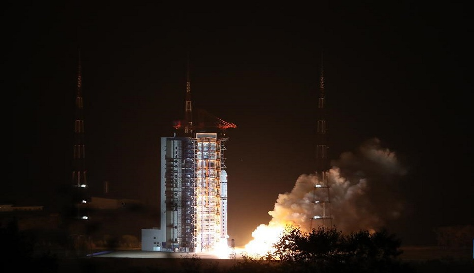 China launches first solar exploration satellite