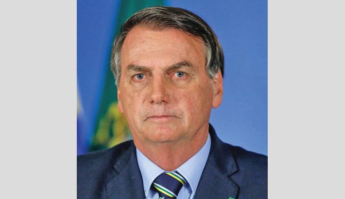 Bolsonaro won't get vaccinated