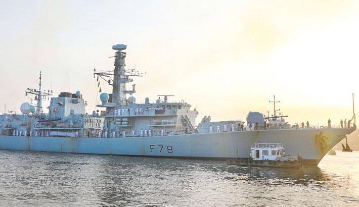 British Navy ship arrives on goodwill visit
