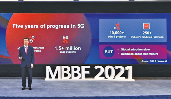 Huawei calls on ICT industry to work together for 5G dev