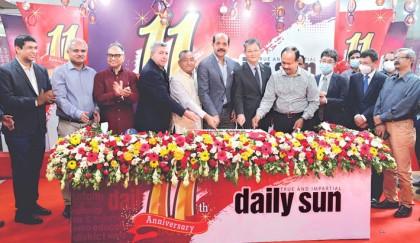 Daily Sun celebrates 11th anniv
