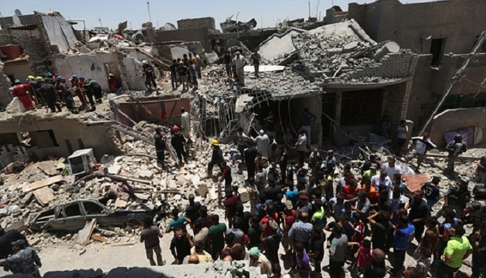 Iraqi jet accidentally bombs Baghdad district, killing at least 12