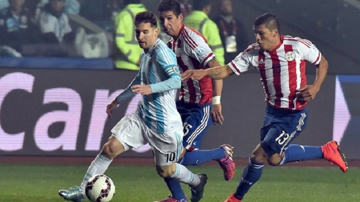Messi sparkles as Argentina thrash Paraguay