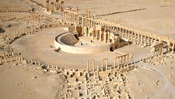 Islamic State blows up first century tower tombs in Palmyra