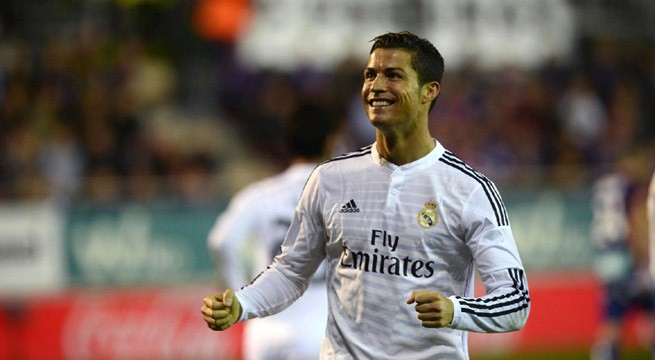 I am very happy at the best club in the world: Ronaldo