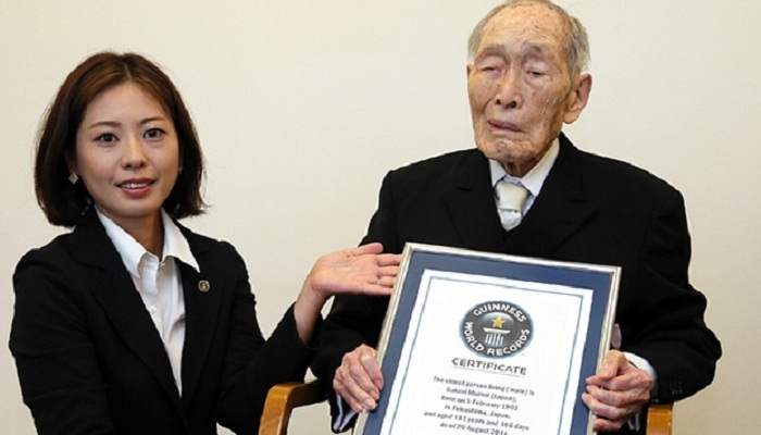 World's oldest man dies in Japan at age 112